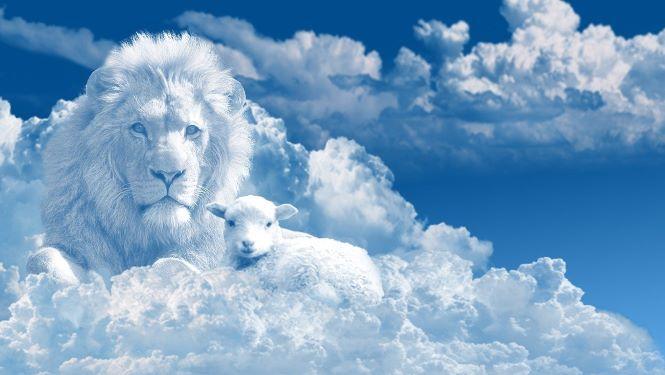 god christ kingdom lion lamb heaven spirit Jesus