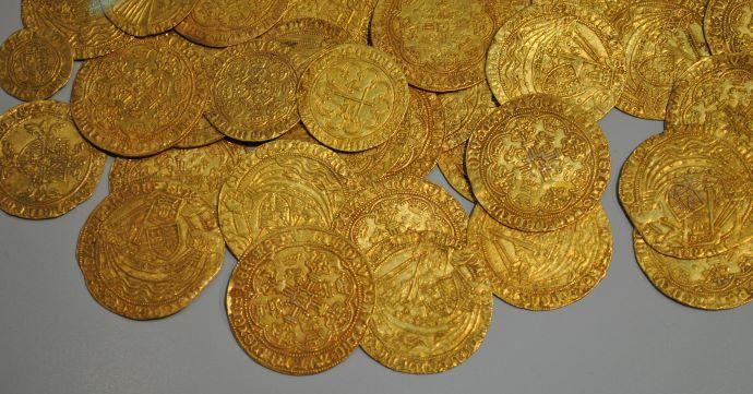 gold coin inheritance kingdom christ