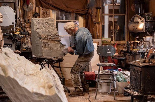 artist sculptor sculpture human art creation creator