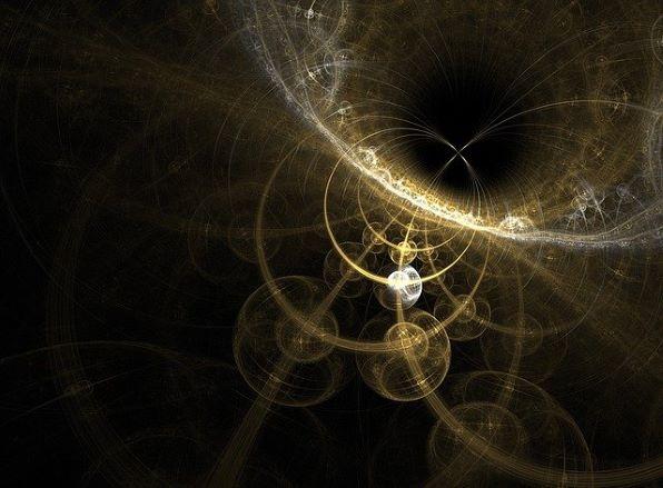 time and space god fractal divine Jesus Christ